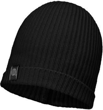 Buff Knitted Hat Basic black