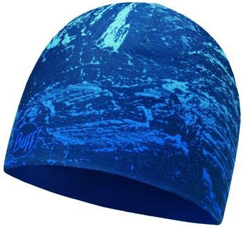 Buff Microfiber Reversible Hat mountain bits blue