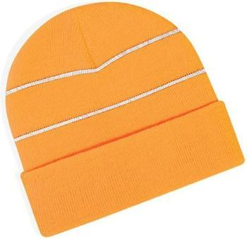 Beechfield CB42 Enhanced-Viz Beanie fluorescent orange
