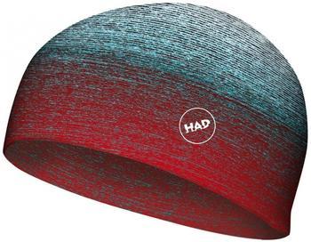 H.A.D. Beanie gradient melange redblue