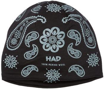 H.A.D. Merino Beanie india paisley black