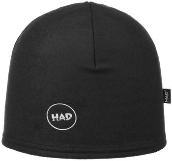 H.A.D. Printed Fleece Beanie black reflective 3M