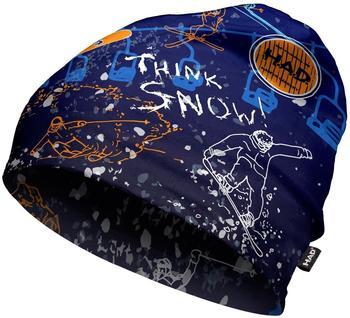 H.A.D. Printed Fleece Beanie think snow