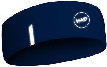 H.A.D. Printed Fleece Hadband blue reflective