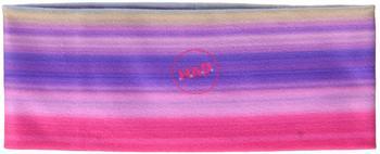 H.A.D. Printed Fleece Hadband fading pink