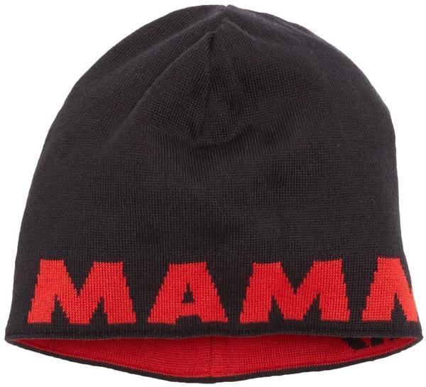 Mammut Logo Beanie black/inferno