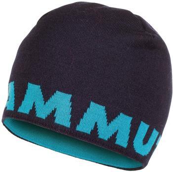 Mammut Logo Beanie marine/aqua