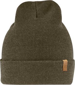 Fjällräven Classic Knit Hat dark olive