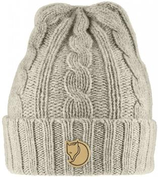 Fjällräven Braided Knit Hat chalk white