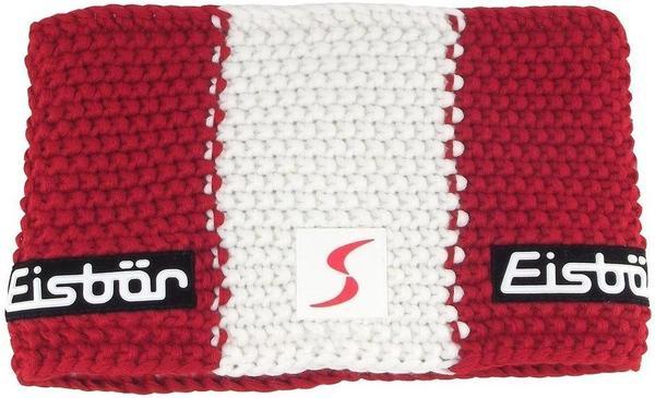 Eisbär Jamie Flag Headband red/white/red