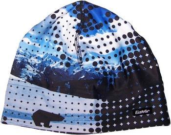 eisbaer-print-beanie-blue