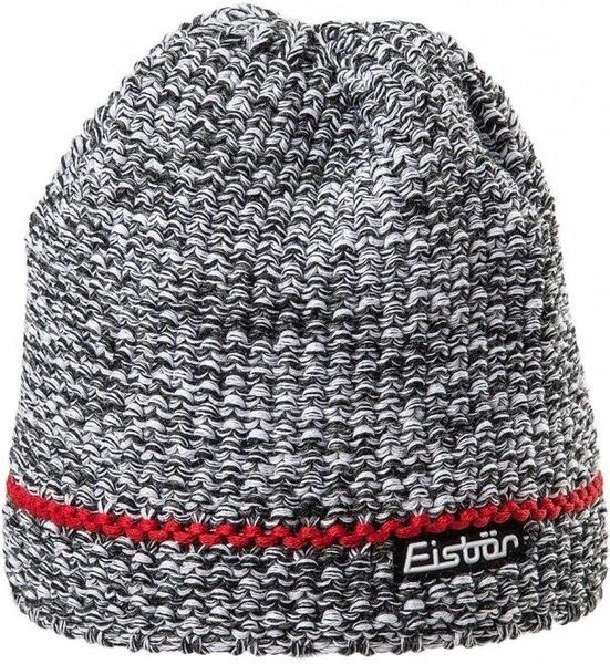 Eisbär Levi Stripe Beanie grey/red