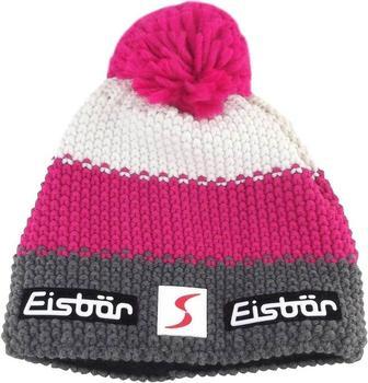 Eisbär Star Pompon Beanie grey/pink/white
