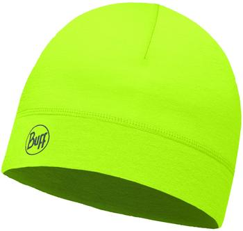Buff Thermonet Hat solid yellow fluor