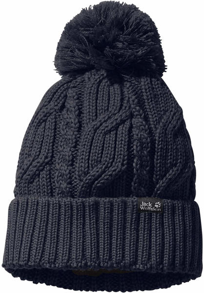 Jack Wolfskin Stormlock Pompom Beanie night blue