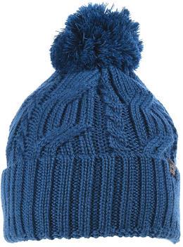 Jack Wolfskin Stormlock Pompom Beanie poseidon blue