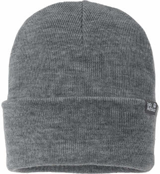 Jack Wolfskin Rib Hat grey heather