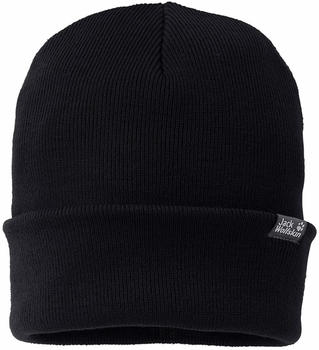 Jack Wolfskin Rib Hat black