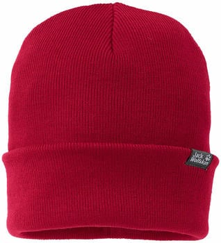 Jack Wolfskin Rib Hat indian red