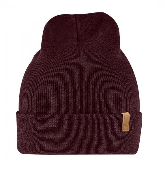 Fjällräven Classic Knit Hat dark garnet