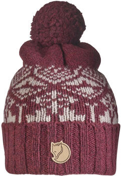 Fjällräven Snow Ball Hat dark garnet