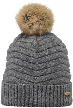 Barts Henriette Beanie dark heather