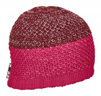 ORTOVOX Crochet Beanie neon hot coral