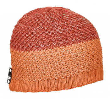 ORTOVOX Crochet Beanie shocking orange