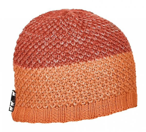 Ortovox Crochet Beanie shocking orange