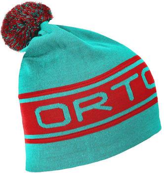 ORTOVOX Logo Band Beanie aqua