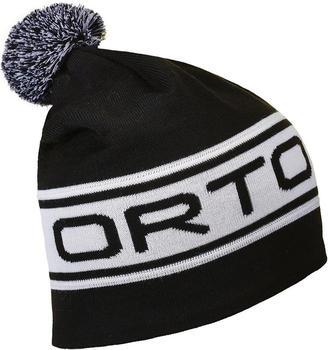 ORTOVOX Logo Band Beanie black raven
