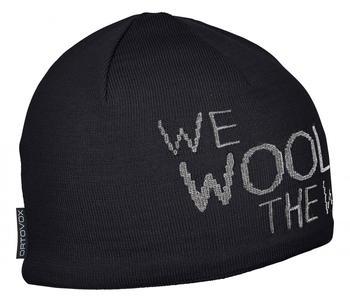 ORTOVOX WE Wool THE World Beanie black raven