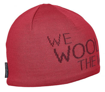 Ortovox WE Wool THE World Beanie hot coral
