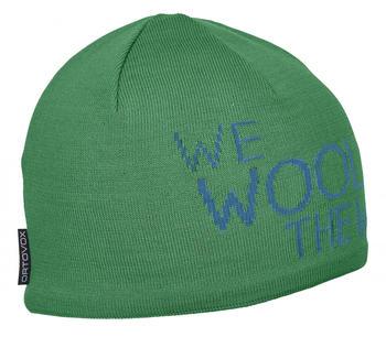 ORTOVOX WE Wool THE World Beanie irish green