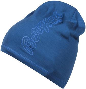 Bergans Bloom Wool Beanie ocean/athens blue