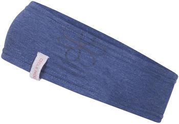 Bergans Cecilie Summer Headband ink blue melange/navy