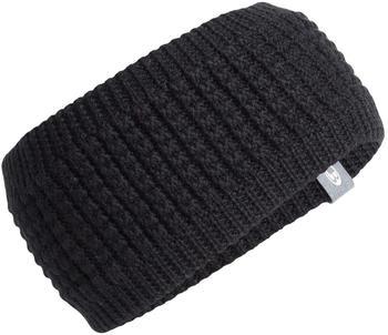Icebreaker Affinity Headband black/gritstone hthr