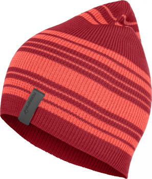 Norrøna29 Striped Light Weight Beanie jester red