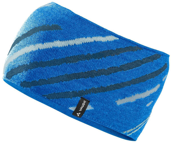 VAUDE Back Bowl Headband radiate blue
