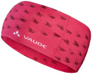 VAUDE Cassons Headband strawberry
