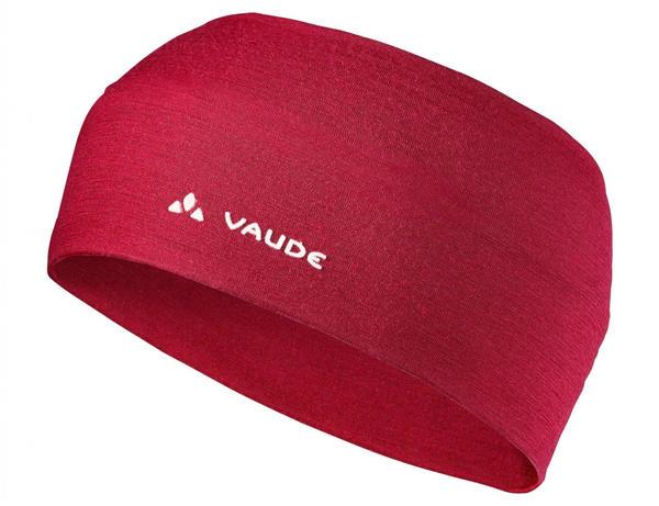VAUDE Cassons Merino Headband dark indian red