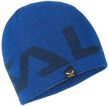 Salewa Antelao Reversible Wool Beanie true blue