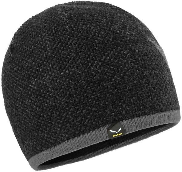 Salewa Ortles Wool Beanie black out/grey