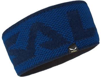 Salewa Puez Alphubel Wool Headband true blue