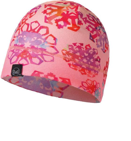Buff Polar Hat Junior Origami Flock lamingo pink