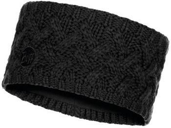 Buff Knitted & Polar Fleece Headband Savva black