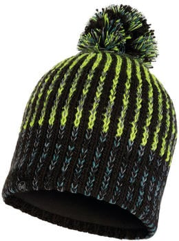 Buff Knitted & Band Polar Hat Iver black