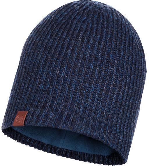 Buff Knitted & Full Polar Hat Lyne night blue