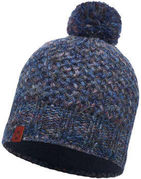 Buff Knitted & Polar Hat Margo blue