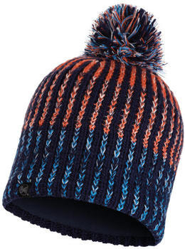 Buff Knitted & Band Polar Hat Iver medieval blue